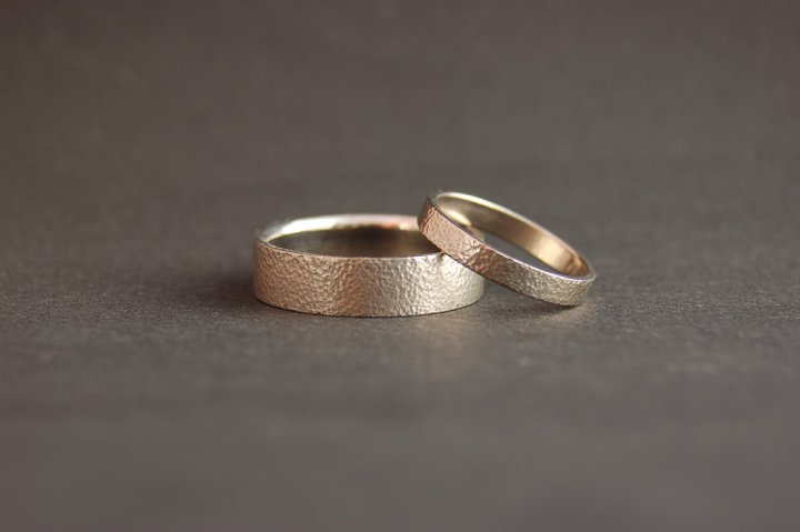 Chased Wedding Bands