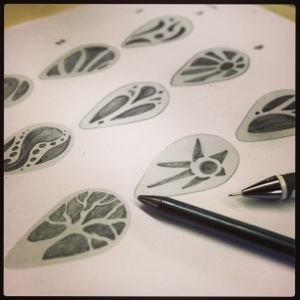 A Graphite Beginning New Jewelry Design Ideas Start on Paper